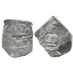 Guatemala, cob 8 reales, (1)737(J).