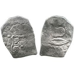 Guatemala, cob 8 reales, 1738J.