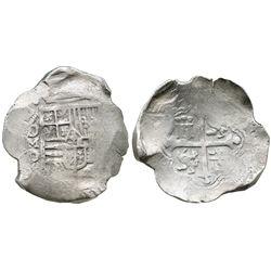 Mexico City, Mexico, cob 8 reales, (162)2/1/0D.