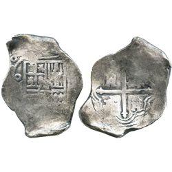 Mexico City, Mexico, cob 8 reales, (16)50(P).