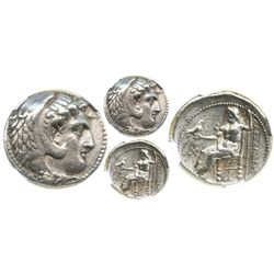 Kings of Macedon, AR tetradrachm, Alexander III (the Great, 336-323 BC), Susa mint, struck ca. 325-3