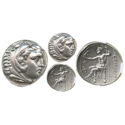Kings of Macedon, AR tetradrachm, Alexander III (the Great, 336-323 BC), Amphipolis mint, struck und