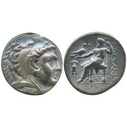 Kings of Macedon, AR tetradrachm, Alexander III (the Great, 336-323 BC), Pella mint (?), ca. 275-270