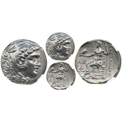 Thrace, Odesses, AR tetradrachm, ca. 281/70-196/88 BC, struck in the name and type of Alexander III