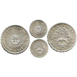 Argentina (Potosi mint), 1 real, 1813J.