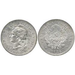 Argentina, 50 centavos, 1882.