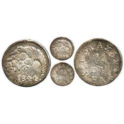 Popayan, Colombia, 1/4 real, 1844/33, ex-Lozano, very rare.