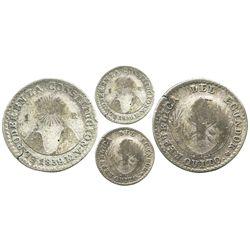 Quito, Ecuador, 1 real, 1839MV.