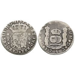 Guatemala, pillar 4 reales, Charles III, 1762P.