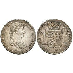 Guatemala, bust 8 reales, Ferdinand VII, 1813M.
