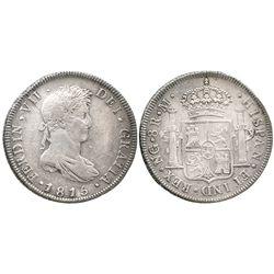 Guatemala, bust 8 reales  Ferdinand VII, 1815M.