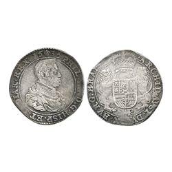 Brabant, Spanish Netherlands (Brussels mint), portrait ducatoon, Philip IV, 1636.