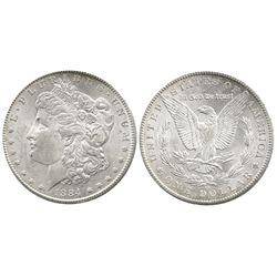 USA (Carson City mint), 1 dollar Morgan, 1884-CC.