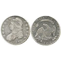 USA (Philadelphia mint), 50 cents bust half, 1819.