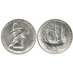 USA (Philadelphia mint), 1/2 dollar, 1920, Pilgrim Tercentenary.