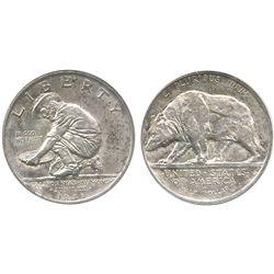 USA (San Francisco mint), 1/2 dollar, 1925-S, California commemorative, encapsulated NGC MS 63.