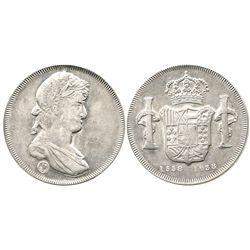 Bogota, Colombia, silver medal, 1938, 400th anniversary of the founding of Bogota (portrait of Ferdi