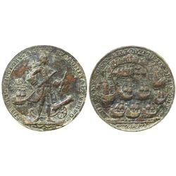 Great Britain, copper Admiral Vernon medal, Porto Bello, 1739.