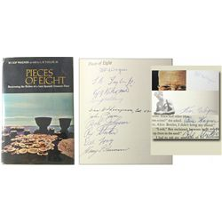 Wagner, Kip. Pieces of Eight (1966 First Edition), autographed by all 10 Real Eight members and asso