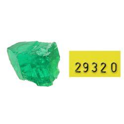 High-quality natural emerald #29320, 1.95 carats.