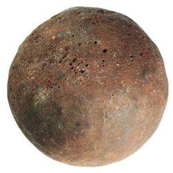 Medium bronze cannonball (rare).