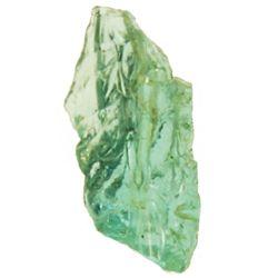 Small, natural emerald chip, 1 carat.