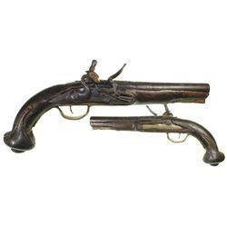 Flintlock pistol, North African / Mediterranean, ca. 1790s.