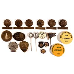Dairy Lapel Pins IL - , -  - Tokens