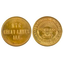 Great Lakes Naval Token IL - , -  -