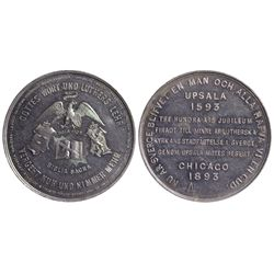 German Token IL - Chicago,Cook County and DuPage County - 1893 - Tokens