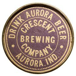Aurora Crescent Brewing Co. Mirror IN - Aurora,Dearborn County -  -