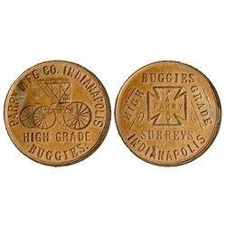 Parry Mfg. Co. Token IN - Indianapolis,Marion County -  -