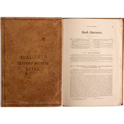 Spalding's Township Officers' Guide KS - Topeka,Shawnee County - 1878 -