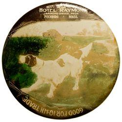 Hotel Raymond MA - Fitchburg, - c1908 -