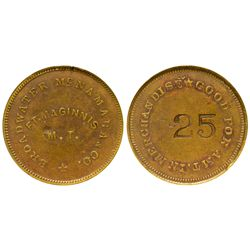 Broadwater McNamara & Co. Token MT - Fort Maginnis,Fergus County -  - Tokens