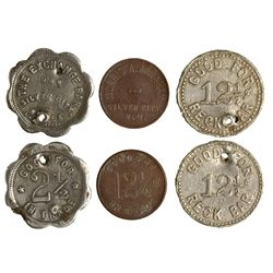Silver City Tokens NM - Silver City,Grant County -  -