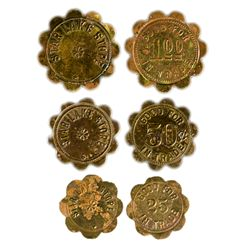 Star Lake Store Tokens (3) NM - Star Lake,Taos County -  -