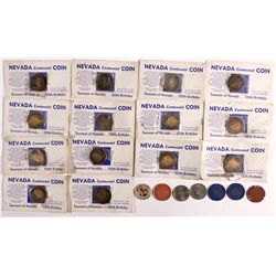 Nevada Coins, Tokens, and Chips NV - , -  -