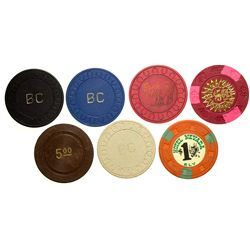 Ely Casino Chips NV - Ely,White Pine County -  -