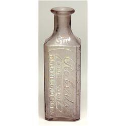 Druggist Bottle NV - Goldfield,Esmerelda County - 1910 -
