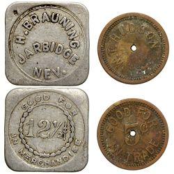 W.T. Hudson / H. Brauning NV - Jarbidge,Elko -  -