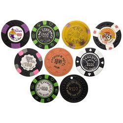 $100 Las Vegas Chip Collection NV - Las Vegas,Clark County -  -