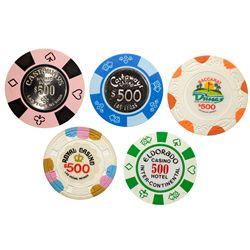 $500 Chip Collection NV - Las Vegas,Clark County -  -