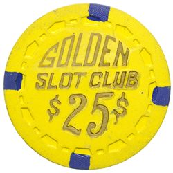 Golden Slot Club Casino Chip NV - Las Vegas,Clark County -  -