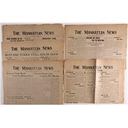 Manhattan Newspapers NV - Manhattan, - 1907 -