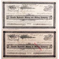 Tuscarora Mining Stocks NV - Tuscarora,Elko County - 1907 - 2012aug - General Americana