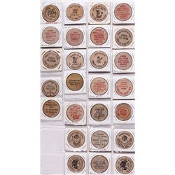 New York Wooden Nickels NY - Tokens