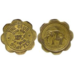 Club, The token OR - Sumpter,c1908 - Tokens