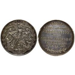 I.O.O.F. Medal PA - Philadelphia, - 1869 -