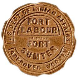 Fort Labour Token - Fake! SC - , -  -